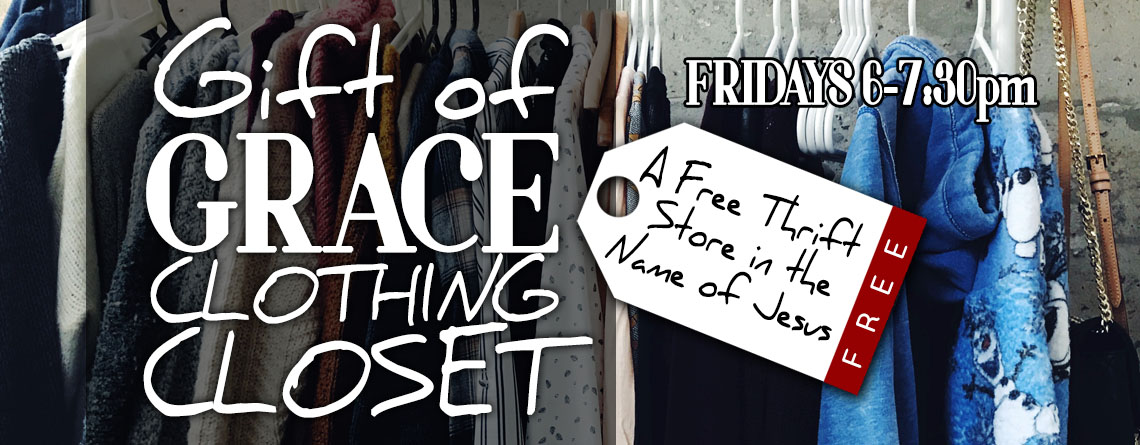 Gift of Grace Clothing Closet