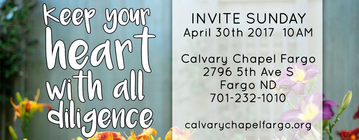 April Invite Sunday