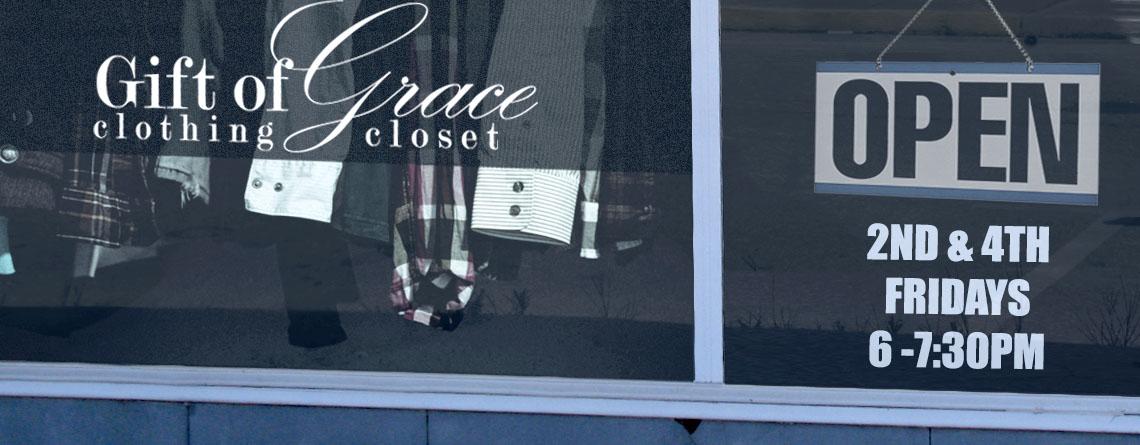 Gift of Grace Clothing Closet